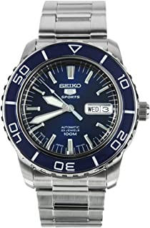 5 Sports SNZH53J1 Japan Men's Stainless Steel Blue Dial Automatic Watch