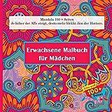 logiciel point de croix dmc gratuit  Erwachsene Malbuch für Mädchen Mandala 100 + Seiten - Je höher der Affe steigt, desto mehr blekkt ihm der Hintern.