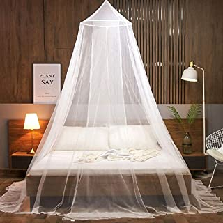 FGen Moustiquaire de Lit B¨¦B¨¦, moustiquaire grand lit, ciel de lit bebe, Facile à Installer, Adapté Pour Lit Bébé, Lit S...