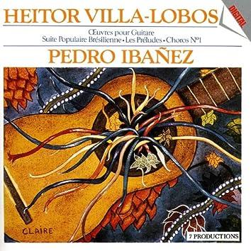Prestigio De La Guitarra Vol. 3 : Plays Heitor Villa-Lobos / Œuvres Pour Guitare D'Heitor Villa-Lobos