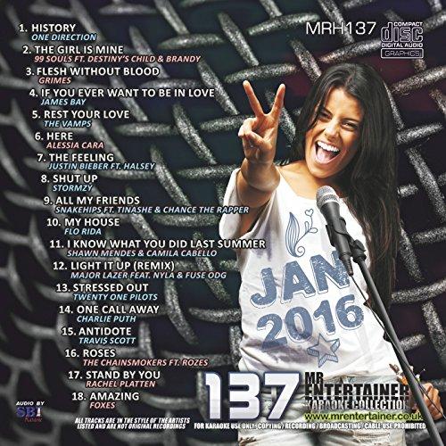 Mr Entertainer Karaoke MRH137 Chart Hits Vol 137 January 2017 CDG