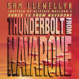 Thunderbolt from Navarone audiobook cover art