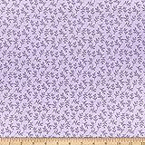 Felicity Fabrics Basics Florets Lavendel-Stoff, Meterware