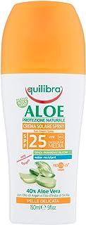Equilibra Aloe Crema Solare Spray Spf 25, 200 ml