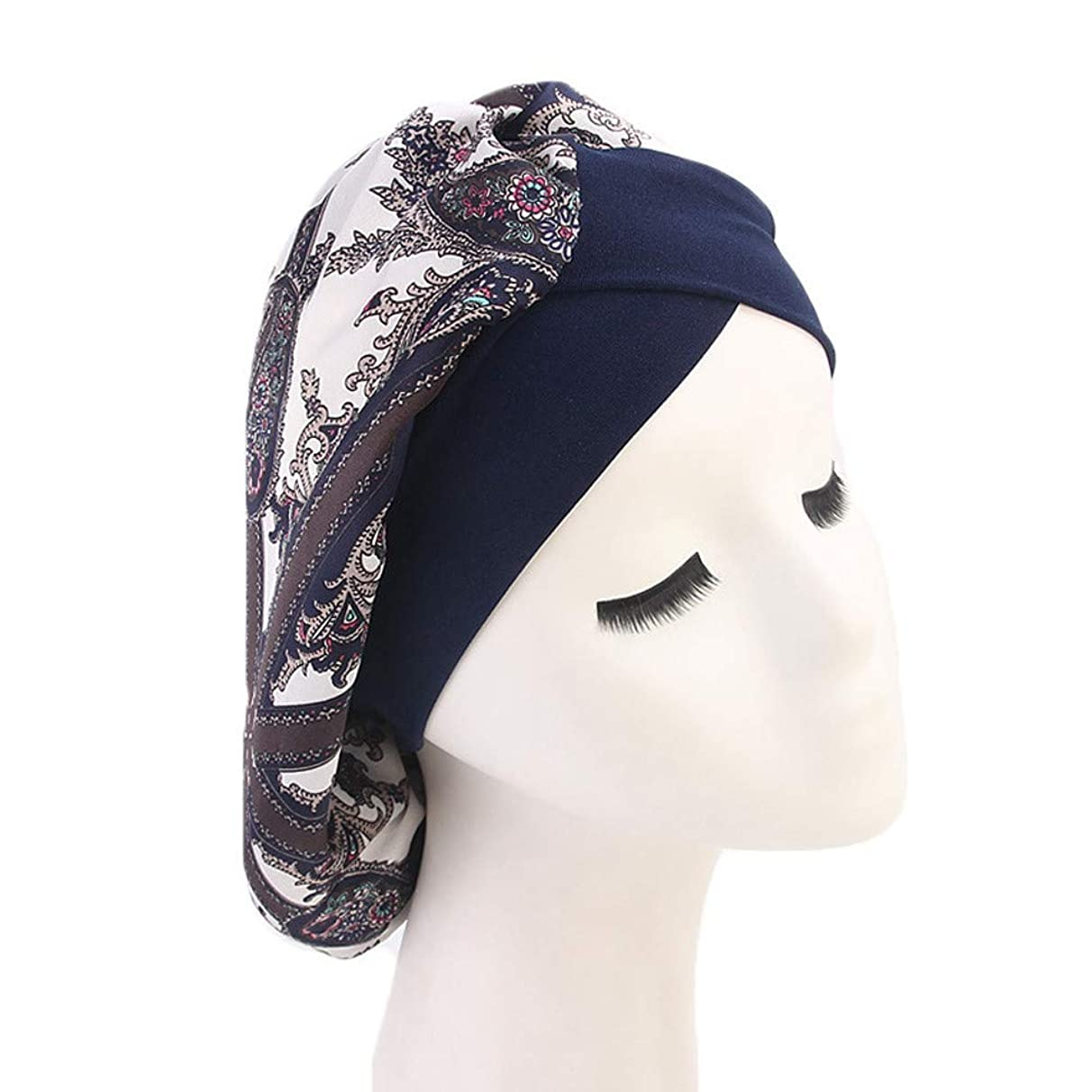 Muranba Women Muslim Hat Retro Turban Hat Cap