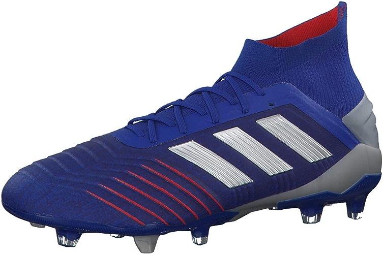 Adidas Prougeator 19.1 FG, Chaussures de Football Homme, MultiCouleure (Azufue Plamet Foobleu 000), 44 2 3 EU