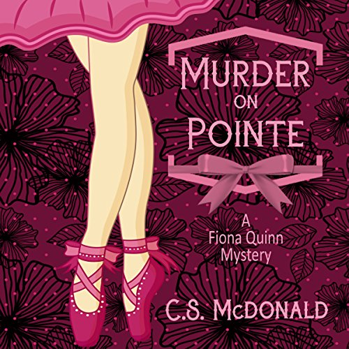 Murder on Pointe audiobook cover art