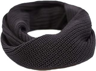 orange and black infinity scarf