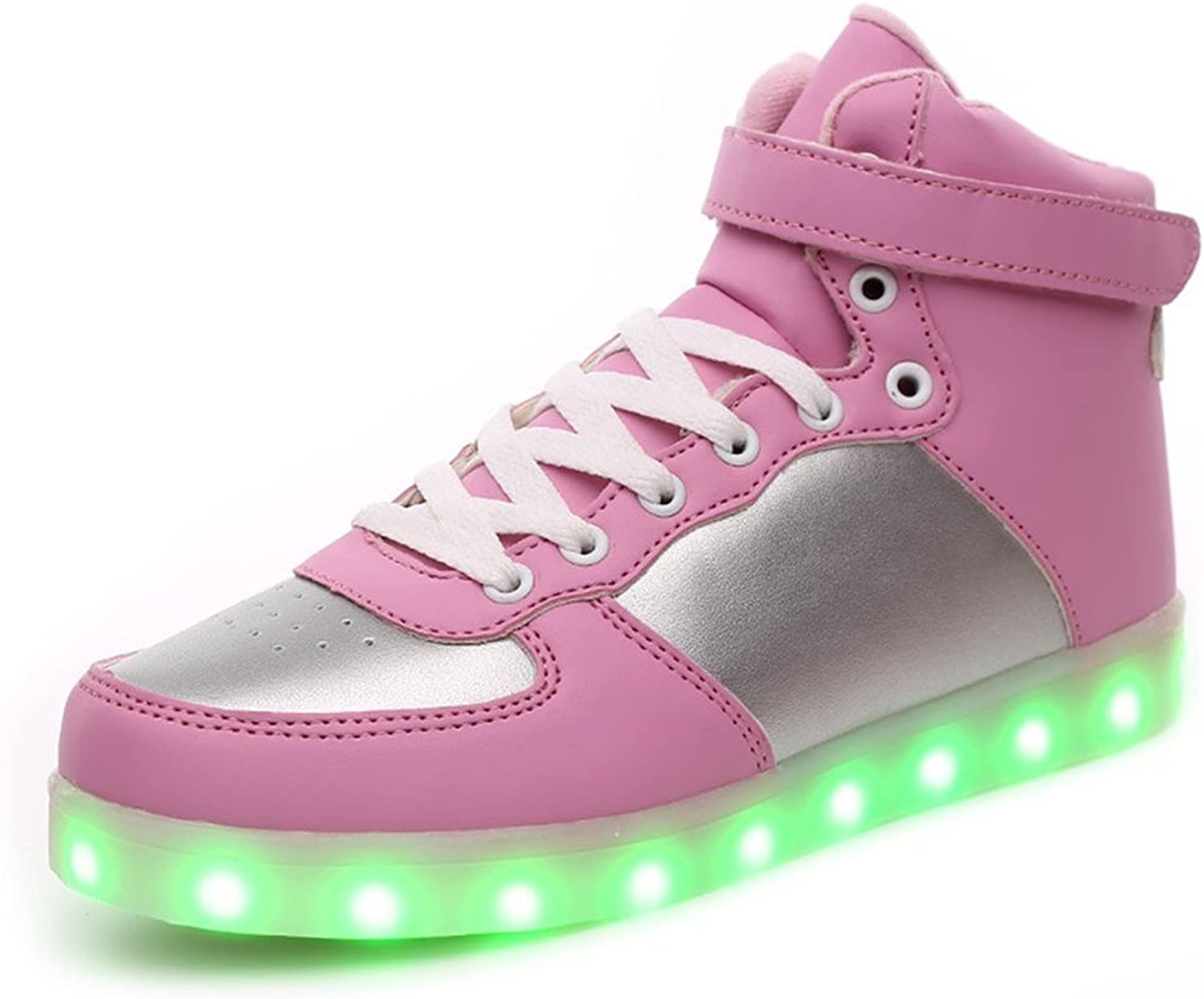 Jedi fight back Women Men Unisex High Top USB Charging shoes Light Up shoes Flashing Sneakers