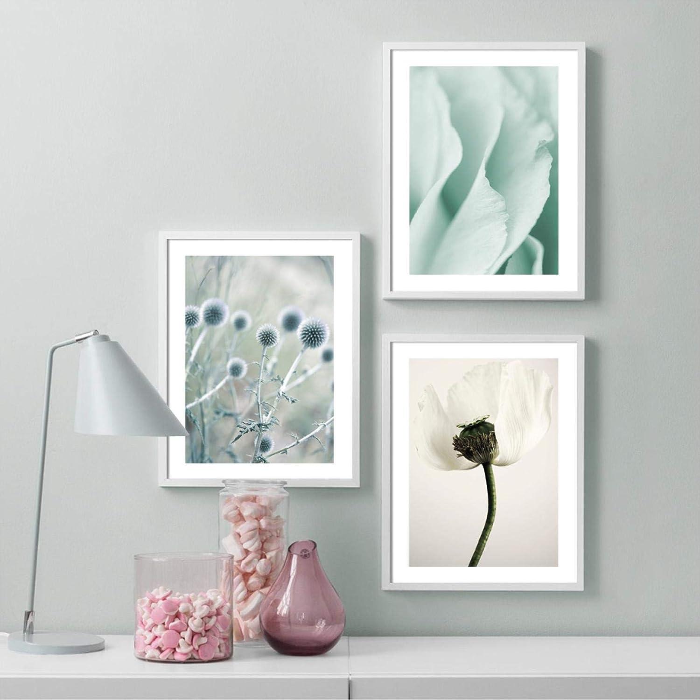 Sunsightly Canvas Wall Art Bloom Nordic Poppies Popular brand Finally resale start Pos Misty Flower