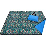 Roebury Picnic Blanket & Beach Blanket - Large Oversized Water-Resistant...