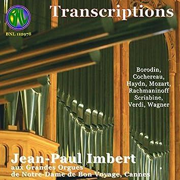 Transcriptions, retranscriptions (Orgue Version)