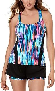 Miraclesuit Women's Swimwear Prismatix Full Tummy Control Drawstring Waist Swim Beach Short