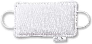 The Original Cushy Closer Door Cushion- White- | No More Noisy Doors! | Door Latch Cover- Baby Safety for Quiet Doors- Childproofing 3.5 x 5.5