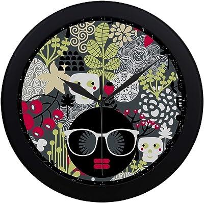 Jack Russell Design Chrome Bedside Alarm Clock Dog Lover GIft