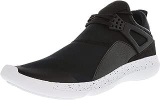 Nike Men's Jordan Fly 89 Black/White Ankle-High Basketball Shoe - 11M