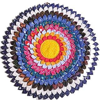 Round Meditation Cushion, Round Meditation Mat, Round Meditation Cushion for Yoga, Round yoga mat, Fitness Exercise Mat - ...