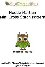 Hootie Martian Mini Cross Stitch Pattern