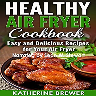Healthy Air Fryer Cookbook cover art