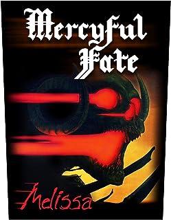 Mercyful Fate Melissa Unisex Parche Espalda multicolor,