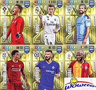2020 Panini Adrenalyn XL FIFA 365 EXCLUSIVE HUGE TEN(10) Card Limited Edition Set! Rare Set Imported from Europe! Including Cristiano Ronaldo, Toni Ross, Sergio Aguero, Ryan Babel & More! WOWZZER!