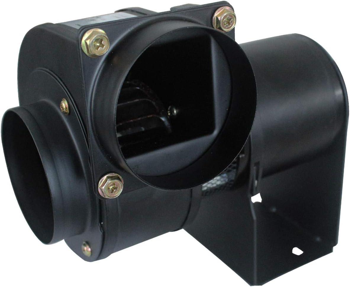 Ventilador centrifugo 220v motor extractor caldera radial max.200℃ ventilador estufa pellets industrial 25w 45w 50w (50W)