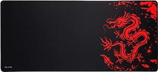JIALONG Grande Alfombrilla de Ratón Ordenador XXL (900x400x3mm) Speed Gaming Mouse Pad con superficie de tela suave, precisión y velocidad mejoradas, diseñada para Videojuegos Gamers