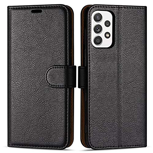 Case Collection Premium Leather Folio Cover for Samsung Galaxy A72 5G Case (6.0') Magnetic Closure Full Protection Book Design Wallet Flip with [Card Slots] and [Kickstand] for Samsung A72 Phone Case