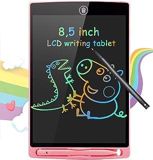 BIGFOX Tavoletta Grafica LCD Scrittura 8,5 con Display Colorato, Elettronica Lavagna Cancellabile Tavolo da Disegno Portat...