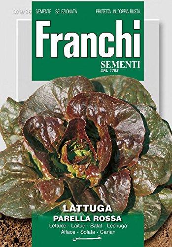 Salatsamen - Salat Rougette De Montpellier von Franchi Sementi [MHD 12/2019]