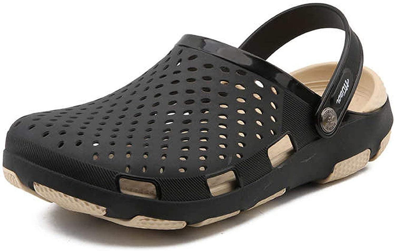 The Beste of us 2019 Summer Mens Sandals Water Beach Mens Clogs Mens Jelly Sandals Mens Chef shoes Lightweight Sandal Garden Clogs