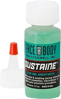 Sustaine Blue Gel During Procedure Anesthetics Original NUMBING Cream 1.2 OZ