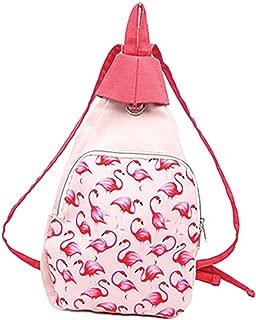 Design Engineering DEI Pink Canvas Flamingo Backpack