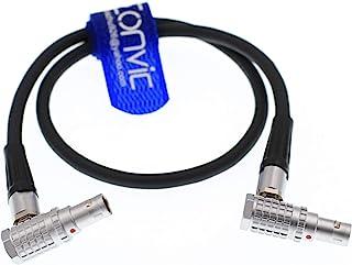 eonvic teradek Bond/Arri Alexa cámara Cable adaptador de alimentación LEMO tanto pines ángulo recto conector