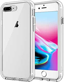 JETech Case Compatible with iPhone 8 Plus and iPhone 7 Plus, 5.5-Inch, Shockproof Bumper Cover, Anti-Scratch Clear Back, U...