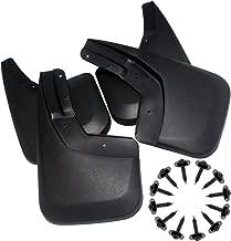 YOOSEN Mud Flaps for 14-18 Chevrolet Silverado 1500 and 15-19 Chevy Silverado 2500/3500 No Drill Splash Guards Kit 4-PC Set (NOT Fit GMC Sierra)