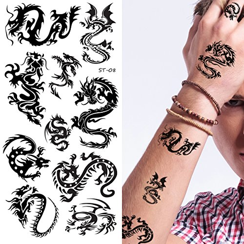 Supperb Temporary Tattoos - Small Dragons (Small Dragons)