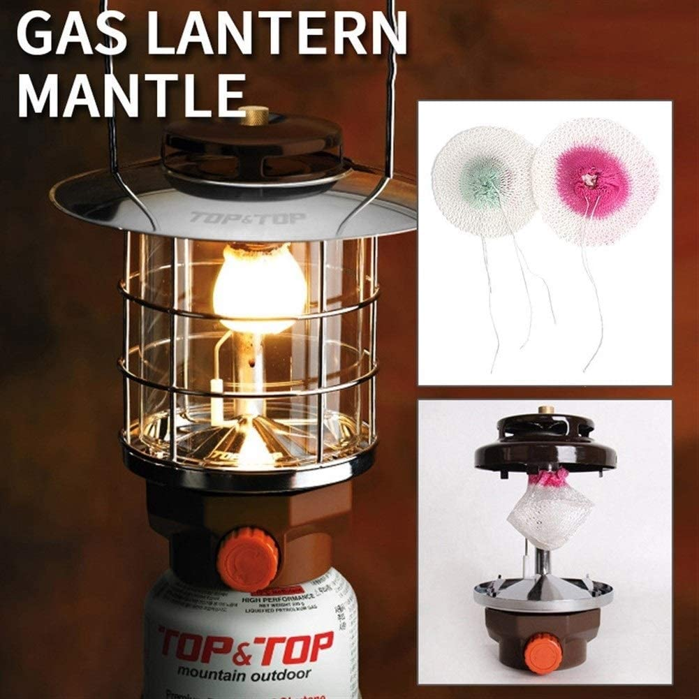 Mantos de farolillos de gas para lámpara de queroseno, 10 ...