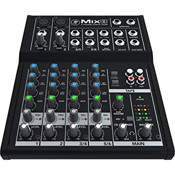 Mackie 25812 Mix8 8-Channel Compact DJ Mischer