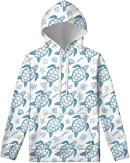 WELLFLYHOM Unisex Kids Teens Sweatshirts Youth Girls Boys Hoodies and Sweaters Hooded Pullover Tops Age 6-16