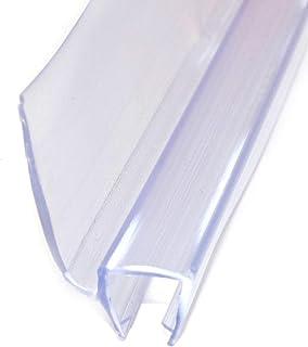 Junta de repuesto para ducha o ducha, protección contra el agua, junta de cristal para ducha, junta de repuesto para puerta de ducha de 6 mm, 8 mm, cabina de ducha, deflector de agua 002 60 cm