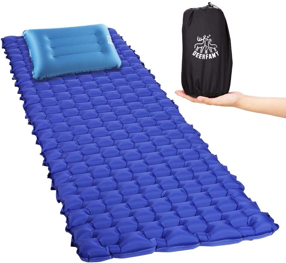 DEERFAMY Compact Sleeping Pads Camping Removable with shipfree Mats Pillo Ranking TOP3