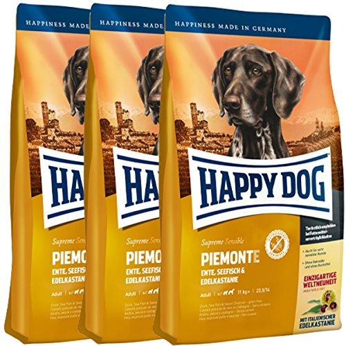 Happy Dog 3 x 10 kg Supreme Sensible Piemonte ✅