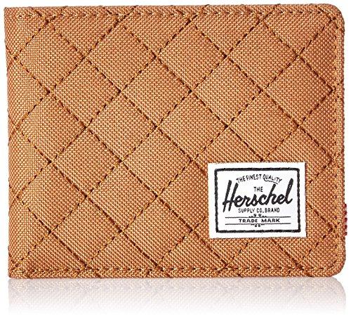 Herschel Unisex Portemonnaie Gr. Einheitsgröße, Karamell gesteppt