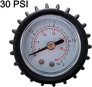 TOOGOO Bar/óMetro PSI Calibre De Presi/óN Term/óMetro V/áLvula De Aire para Inflable Barco Kayak Tabla De Surf