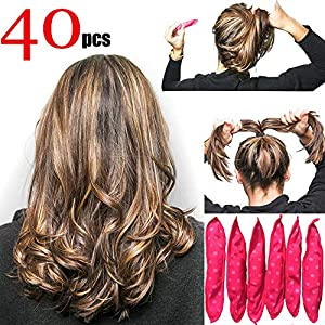 Beauty Shopping soft sleep hair rollers pillow sponge rollers stain no heat foam hair rollers overnight