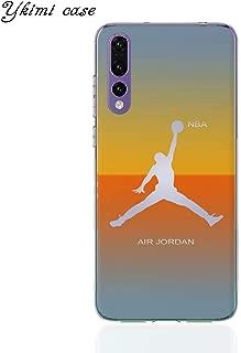 1 piece Ykimi Case For Huawei P8 P9 Lite 2017 P20 Lite Pro Case No. 23 Jordan Cover Transparent Soft Silicone TPU