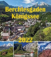 Berchtesgaden Koenigssee Postkartenkalender 2022