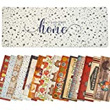 Farmhouse Kitchen Mats Cushioned Anti-Fatigue Comfort Mat for Home & Office Ergonomically Engineered Memory Foam Kitchen Rug Waterproof Non-Skid, 47' by 18'