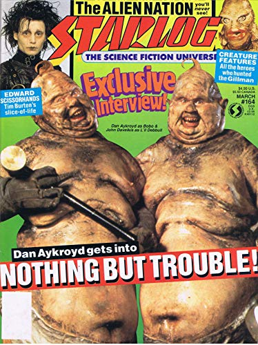Starlog Magazine The Sci Fi Comics: March 1991